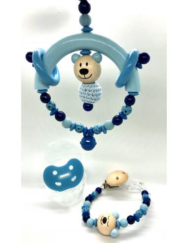 Setangebot (Mobile,Kette,Schnuller) blau